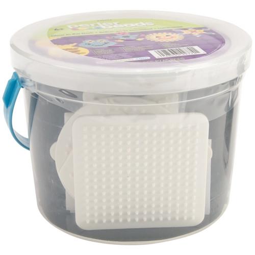 PERLER - Fused Bead Bucket Kit-Glow-In-The-Dark (42774) 048533427741