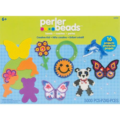 PERLER - Fused Bead Kit-Creative Kid (56944) 048533569441
