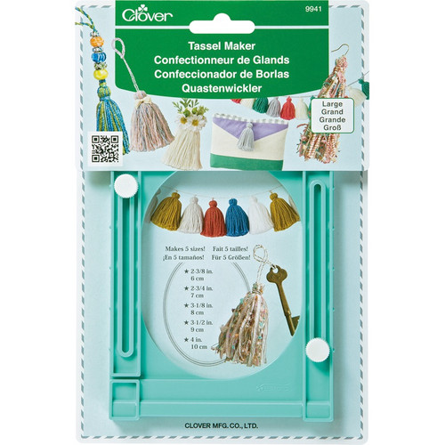 CLOVER - Large Tassel Maker - (9941) 051221799419