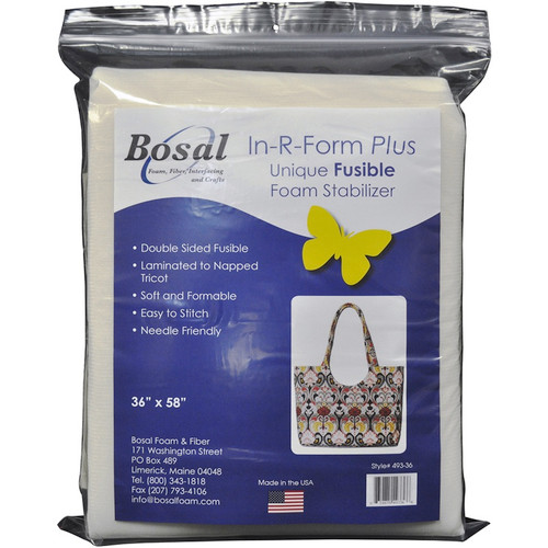"""BOSAL - In-R-Form Plus Unique Fusible Foam Stabilizer-36""""X58"""" (493-36) 834875493366"""