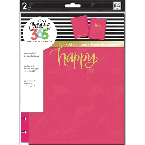ME & MY BIG IDEAS - Create 365 Classic Snap-In Hard Cover Planner-Happy Life (COLC-1) 673807995529