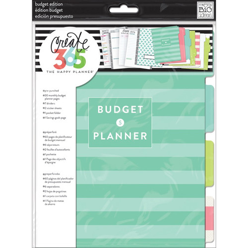 ME & MY BIG IDEAS - Create 365 Classic Planner Extension Pages-Budget (HOM-02) 673807995710