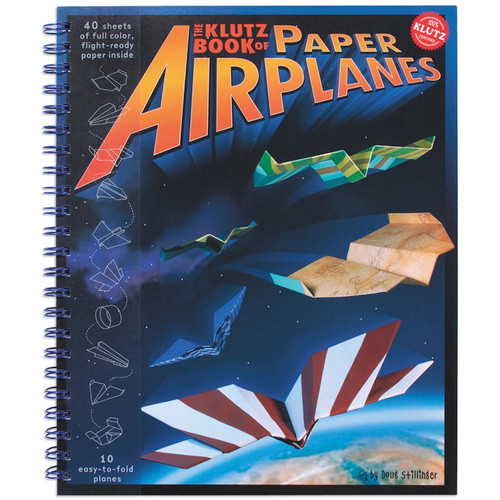 KLUTZ - Paper Airplanes Book Kit - (K8307) 730767483074