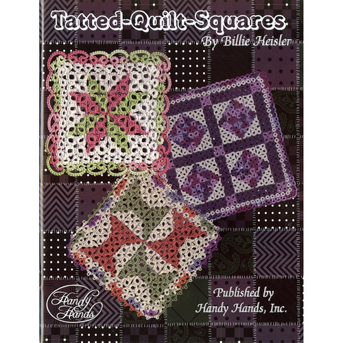 HANDY HANDS - Tatted Quilt Squares (HA-T438) 769826322009