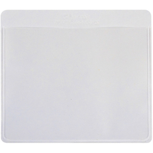 "C-LINE - Self-Adhesive Labeling Pockets 3.75""X3"" 25/Pkg-Clear/White (70443) 038944704432"