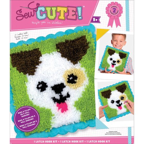 COLORBOK - Sew Cute! Latch Hook Kit-Puppy (73305) 765468733050