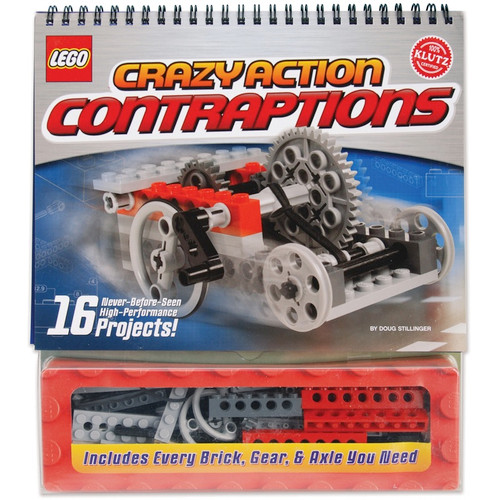 KLUTZ - LEGO Crazy Action Contraptions Book Kit - (K434151) 730767476977