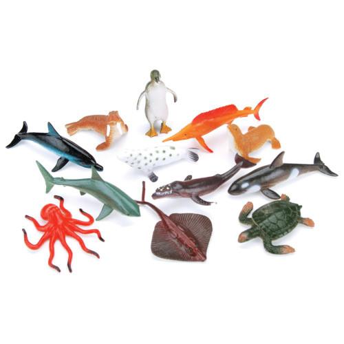 Creatures Inc. - Sea Life (12 PCS) (1029-06) 652695386862