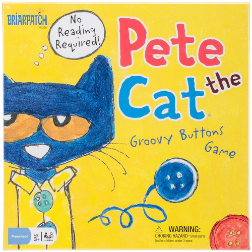 UNIVERSITY GAMES - Pete The Cat Groovy Buttons Game - (BP01256) 794764012569