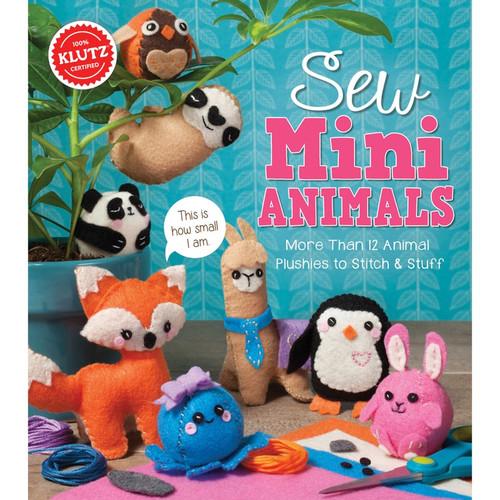 KLUTZ - Sew Mini Animals Kit - (K810644) 730767106447