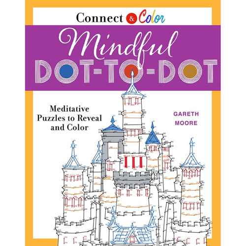 St. Martin's Books - Connect & Color: Mindful Dot-To-Dot (SM-12501) 9781250127891