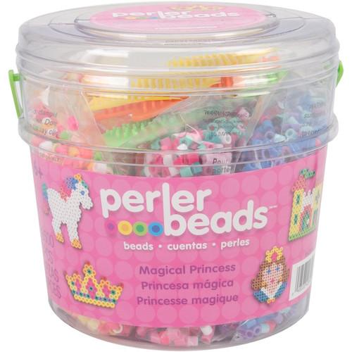 PERLER - Fused Bead Bucket Kit-Magic Princess (42840) 048533428403