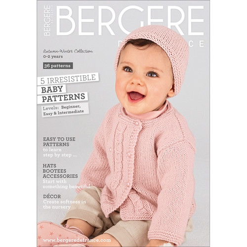 Bergere De France - Explanations 182-Baby 0-2 Years (BF67468) 3661004674689