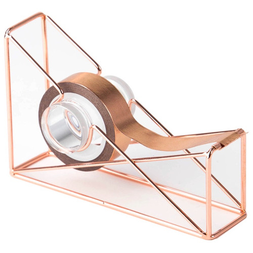 U BRANDS - Wire Tape Dispenser 1/Pkg-Copper (858U0112) 812296028589