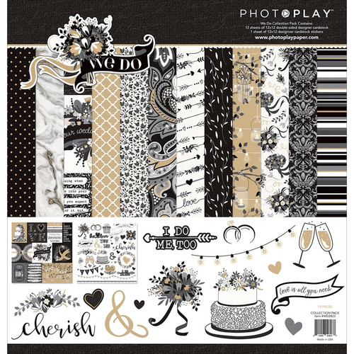 """PHOTO PLAY PAPER - Photo Play Collection Pack 12""""X12""""-We Do Scrapbooking Paper (WD2823) 814948028237"""
