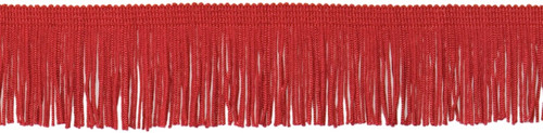 "EXPO INTERNATIONAL - Chainette Fringe 2""X20yd-Red (IR4424-RD) 730484442545"