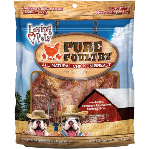 LOVING PETS PRODUCTS - Pure Poultry Chicken Breast 11oz - (LP5641) 842982056411