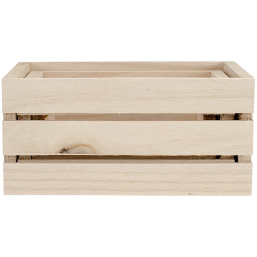 MULTICRAFT IMPORTS - Wood Craft Crate Caddy Set 3/Pkg - (WS920) 775749195705