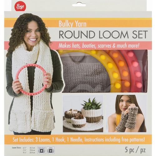 BOYE - Circular Bulky Loom Set - (202001m) 070659938344
