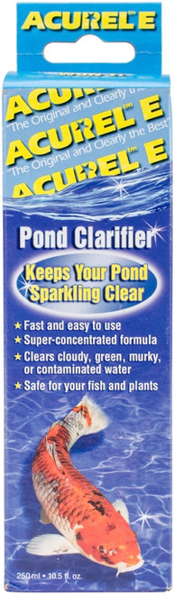 LOVING PETS PRODUCTS - Acurel E Pond Clarifier 250ml-Treats 2,650 Gallons (E250) 842982000032