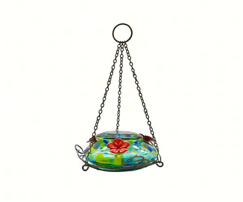 NATURE'S WAY - Illuminated Top Fill Hummingbird Feeder with Solar Powered LED NWGHF7 857907005238