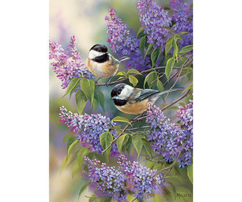 OUTSET MEDIA GAMES - Chickadee Duo - 35 Piece Tray Jigsaw Puzzle (OM58877) 625012588775