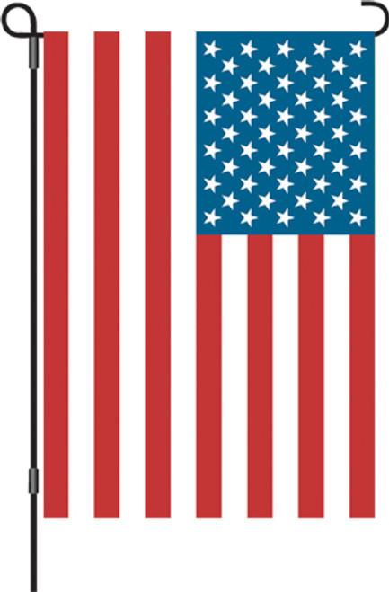 PREMIER DESIGNS - U.S.A. Flag - Decorative Garden Flag (PD51611) 630104516116