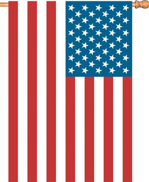 PREMIER DESIGNS - U.S.A. Flag - Standard House Flag - 28 X 40 in (PD52611) 630104526115