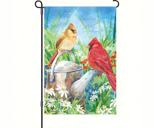 PREMIER DESIGNS - Summer Cardinal Garden Flag PD56034 630104560348