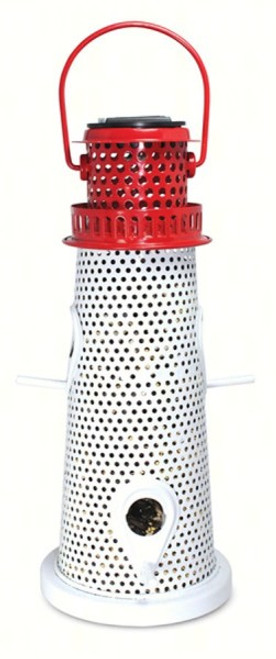 PINEBUSH Lighthouse Bird Feeder with Solar Light PINE10756 678214107565