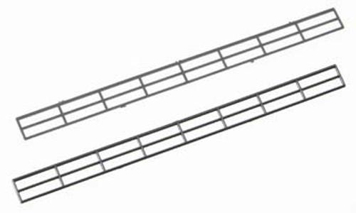 PLASTRUCT - 90471 N Scale Plastic ABS Miniature Hand Rail (2) 764050904717