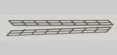 PLASTRUCT - 90481 N Scale Plastic ABS Miniature Stair Rail (2) 764050904816