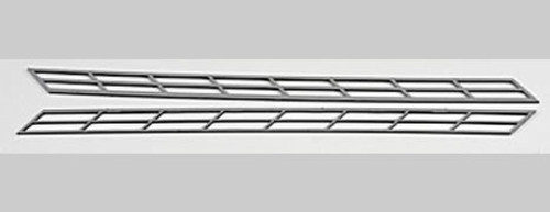 PLASTRUCT - 90482 HO Scale Plastic ABS Miniature Stair Rail (2) 764050904823