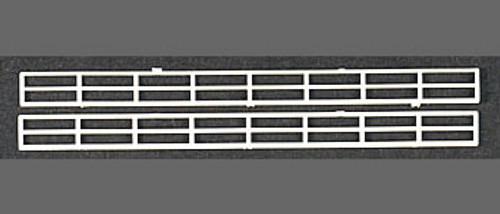 PLASTRUCT - 90681 N Scale Plastic Styrene Miniature Hand Rails (2) 764050906810