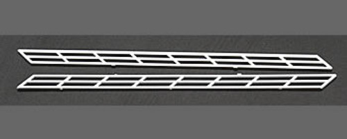 PLASTRUCT - 90691 N Scale Plastic Styrene Miniature Stair Rail (2) 764050906919