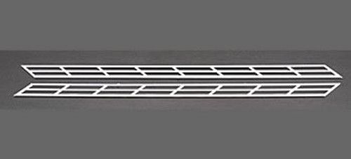 PLASTRUCT - 90692 HO Scale Plastic Styrene Miniature Stair Rail (2) 764050906926