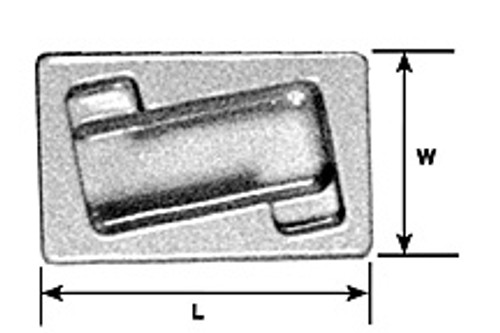 PLASTRUCT - (Architect's Half Inch Scale Furniture) - 1:24 RECTANGULAR HOT TUB (93837)