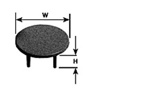 PLASTRUCT - (Architect's Half Inch Scale Furniture) - Miniature 4-legged Table Kit (93885) 764050938859