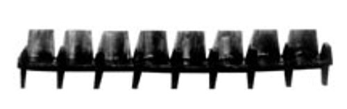 PLASTRUCT - (Architect's Half Inch Scale Furniture) - Miniature 4-seat Row of Seats Kit (93890)