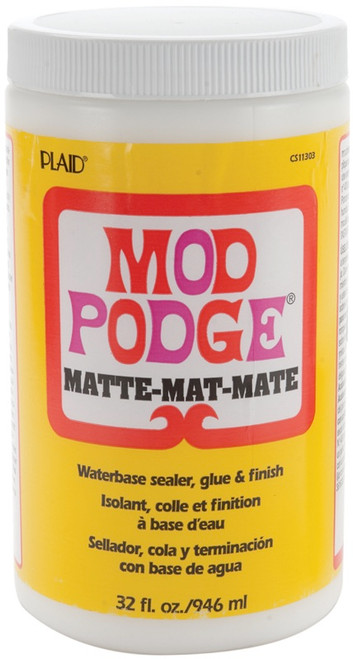 PLAID CRAFTS - Mod Podge Matte Finish-32oz (CS11303) 028995113031