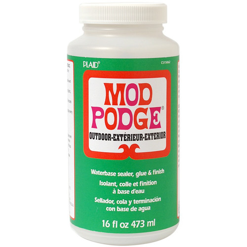 PLAID CRAFTS - Mod Podge Outdoor Finish-16oz (CS15062) 028995150623
