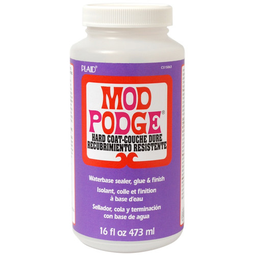 PLAID CRAFTS - Mod Podge Satin Hard Coat Finish-16oz (CS15063) 028995150630