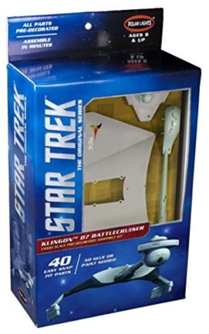 POLAR LIGHTS - 1/1000 Scale Star Trek TOS Klingon D7 Battle Cruiser Plastic Model Space SyFy Kit (937) 849398007815