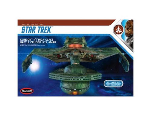 POLAR LIGHTS - 1/350 Scale Star Trek Klingon K't'inga Plastic Model Space SyFy Kit (950) 849398016121