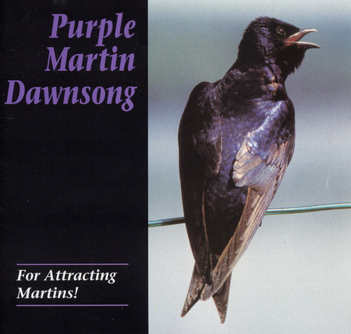 PURPLE MARTIN CONSERVATION PRODUCTS - Purple Martin Attractors - Dawn Song Audio CD (PMCD) 645194001008