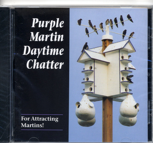 PURPLE MARTIN CONSERVATION PRODUCTS - Purple Martin Attractors - Day Time Chatter Audio CD (PMCHATCD) 675246126427