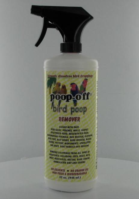 POOP- Poop-Off Bird Droppings Cleaner - 32 oz. (PO000431) 796749000431