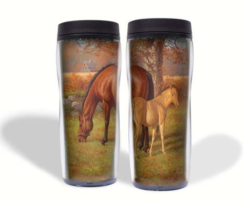 REFLECTIVE ART - A Proud Heritage (Horses) - 16 oz. Travel Mug (RAI17124) 92818171249
