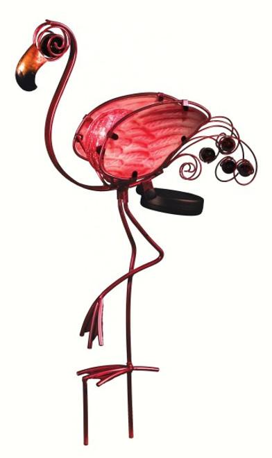 REGAL ART & GIFT Solar Flamingo Stake REGAL10679 657641106792