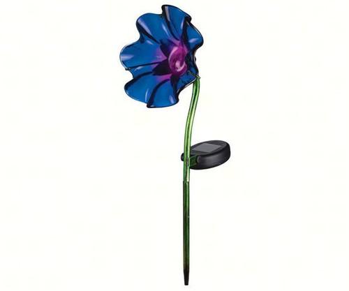 REGAL ART & GIFT - Mini Solar Poppy Garden Stake Purple REGAL11232 657641112328